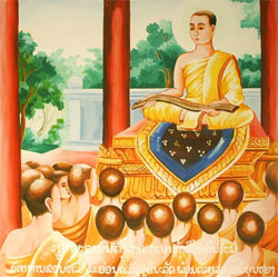Ananda at the first Buddhist council