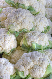 Vegetables such as cauliflower and broccoli are a natural source of dietary thiocyanate