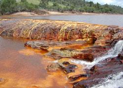 iron-rich river