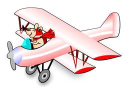 Mouse Biplane