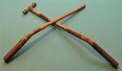 Notched stick