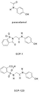 paracetamol scp-1 scp-123 structure